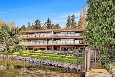 Kirkland Condo/Townhouse For Sale: 4437 Lake Washington Blvd NE #102
