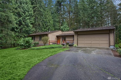 Snohomish Single Family Home For Sale: 19223 State Route 9 SE