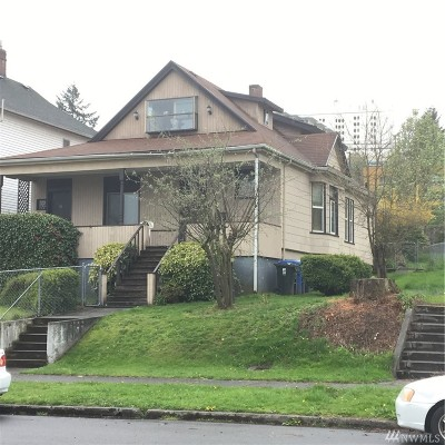Tacoma Single Family Home For Sale: 1550 Fawcett Ave