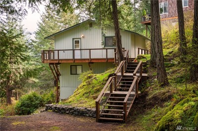 Lummi Island Single Family Home For Sale: 1128 Berry Wy