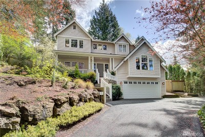 Lake Forest Park Single Family Home For Sale: 18710 46th Ave NE
