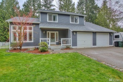 Gig Harbor Single Family Home For Sale: 3909 155th St NW