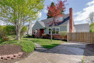 Puyallup Single Family Home For Sale: 123 17th St SW