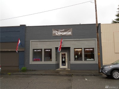 Shelton Commercial For Sale: 114 W Cota St