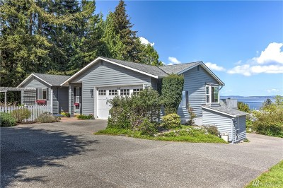 Coupeville Single Family Home For Sale: 122 S Harrington Lagoon Rd