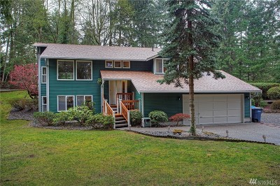 Gig Harbor Single Family Home For Sale: 11102 Sunrise Place NW