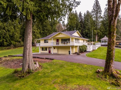 Bellingham Single Family Home For Sale: 989 W Lake Samish Dr