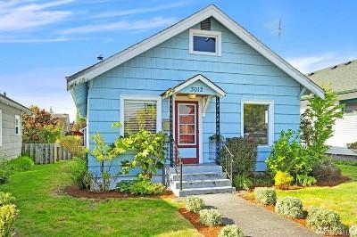 Everett Single Family Home For Sale: 3012 19th St