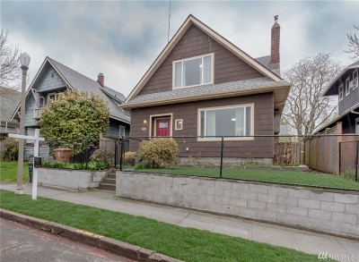 Tacoma Single Family Home For Sale: 815 N Steele St
