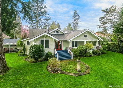Olympia Single Family Home For Sale: 1201 9th Ave SW