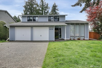 Kent Single Family Home For Sale: 4405 Carnaby St