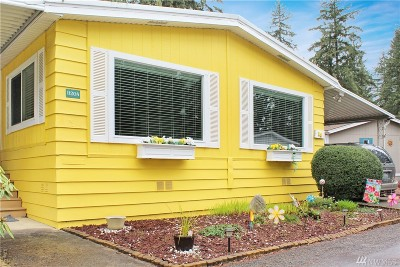 Puyallup Mobile Home For Sale: 11208 124th St Ct E #53