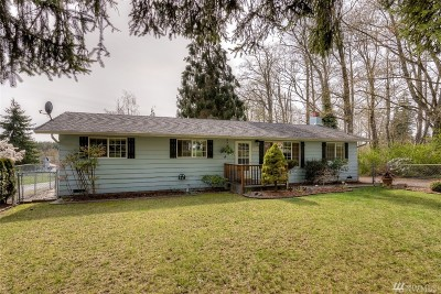 Marysville Single Family Home For Sale: 14926 Willow Dr