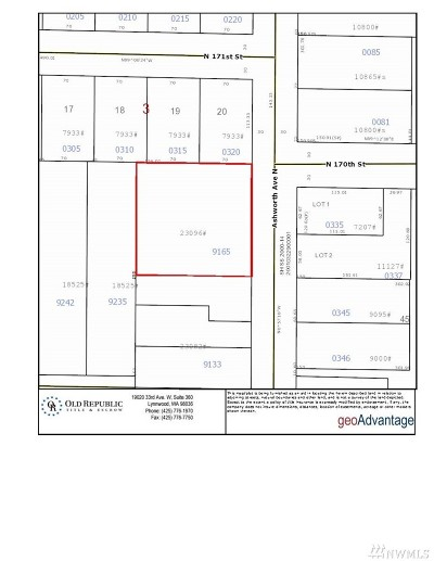 Shoreline Single Family Home For Sale: 16757 Ashworth Ave N