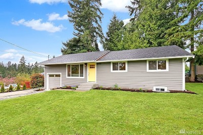 Lynnwood Single Family Home For Sale: 19906 Firwood Dr