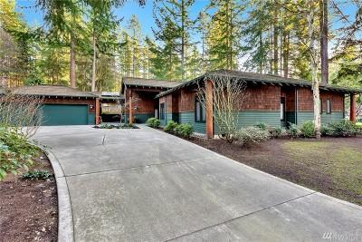 Blaine Single Family Home Sold: 8839 Bald Eagle Dr
