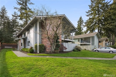 Bellevue Condo/Townhouse Sold: 1609 149th Place SE #4