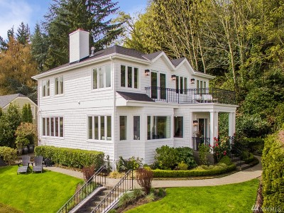Seattle Single Family Home For Sale: 1913 Victoria Ave SW