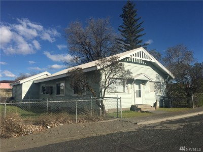 Soap Lake Single Family Home For Sale: 110 Ash St N