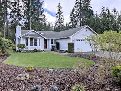 Shelton WA Single Family Home For Sale: $294,500