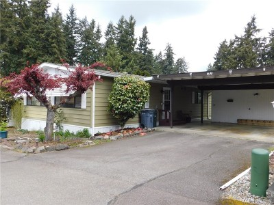 Puyallup Mobile Home For Sale: 9314 Canyon Rd E #69