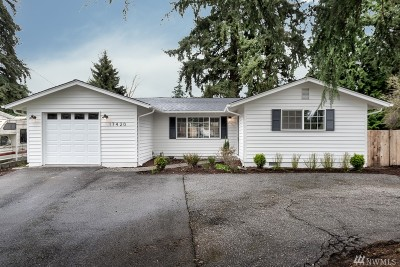 Bothell Single Family Home For Sale: 17420 Clover Rd