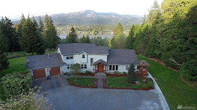 Mount Vernon, Burlington Single Family Home For Sale: 22613 Little Mountain Rd