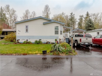 Bonney Lake Mobile Home For Sale: 110 190th Av Ct E #27