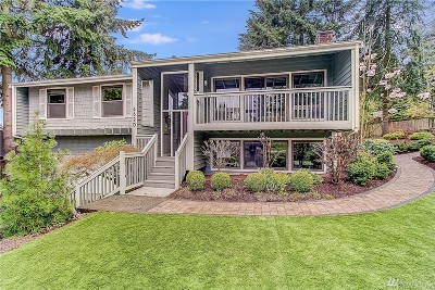 Bellevue Single Family Home For Sale: 4620 140th Place SE