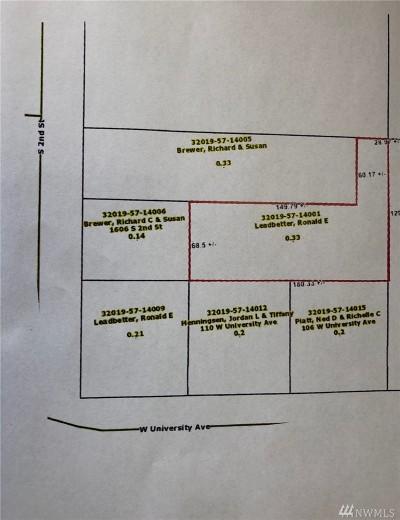 Shelton Residential Lots & Land For Sale: University Ave