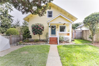 Tacoma Single Family Home For Sale: 4615 N Ferdinand St