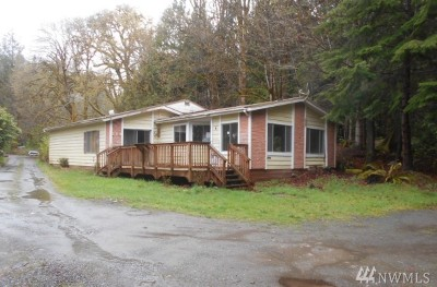 Lilliwaup Single Family Home For Sale: 113 N Jorsted Creek Rd