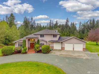Stanwood Single Family Home For Sale: 30922 76th Ave NW