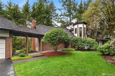 Bellevue Single Family Home For Sale: 14206 NE 40th Place
