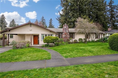 Fircrest Single Family Home For Sale: 322 Berkeley Ave