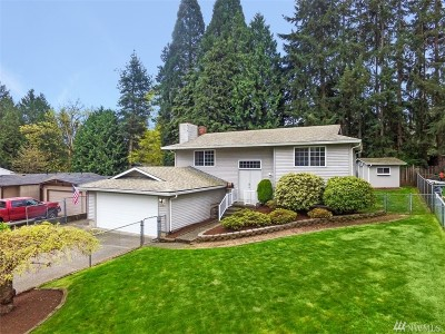 Kent Single Family Home For Sale: 12511 SE 232nd St