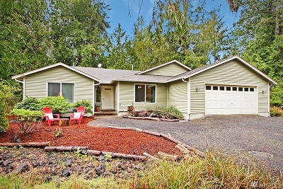 Shelton WA Single Family Home For Sale: $339,000