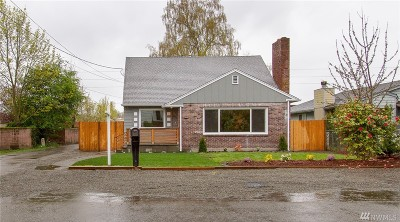 Pierce County Single Family Home For Sale: 5436 S Bell St