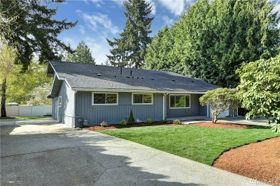 Bellevue Single Family Home For Sale: 16611 NE 9th St