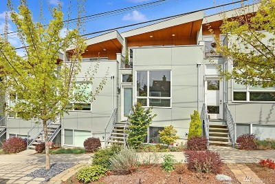 Seattle Single Family Home For Sale: 4202 SW Holly St