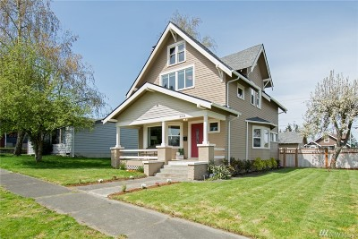 Tacoma Single Family Home For Sale: 3203 S 7th St