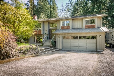 Woodinville Single Family Home For Sale: 14724 219 Ave NE