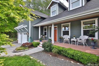 Freeland Single Family Home Sold: 1796 Twin Oaks Lane