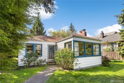 Seattle Single Family Home For Sale: 317 NW 75th St