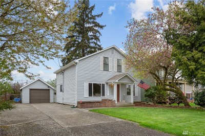 Puyallup Single Family Home For Sale: 1211 9th Ave SW