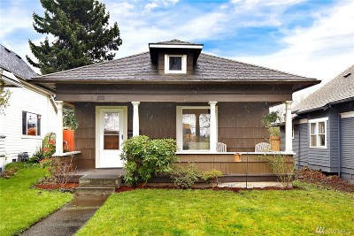 Bellingham Single Family Home For Sale: 2712 James St