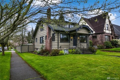 Tacoma Single Family Home For Sale: 951 N Alder St