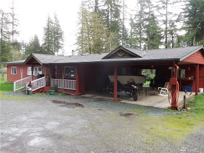 Skagit County Single Family Home Pending Inspection: 40118 State Route 20
