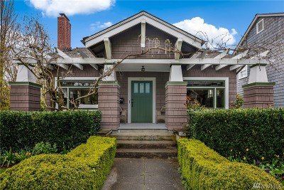 King County Single Family Home For Sale: 3404 E Howell St