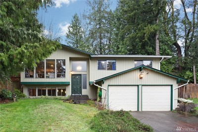 Seattle, Bellevue, Kenmore, Kirkland, Bothell Single Family Home For Sale: 2021 172nd Place SE